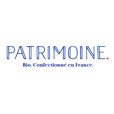 Logo Patrimoine Bio confectionné en France