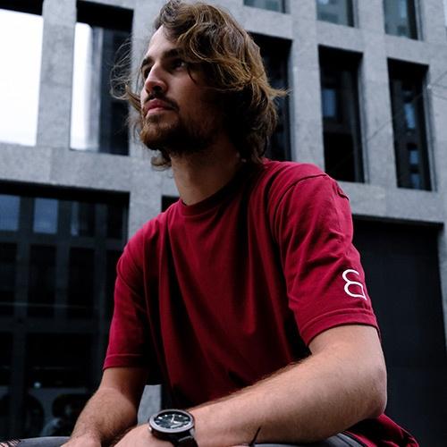 t-shirt rouge libr
